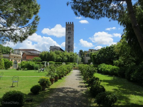 Garden of Villa Pfanner